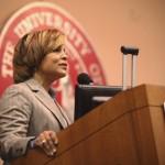 Judi Speaking at the University of South Carolina